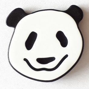 Novelty Panda Button with shank 22mm
