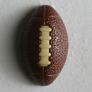 Novelty Football Button with shank 20mm