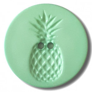 Pinapple Design Button 18mm