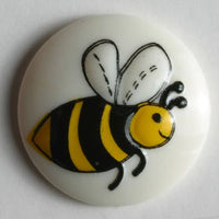 Bee Button 18mm with shank