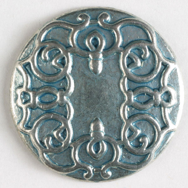 Metal Pattern Tin Button