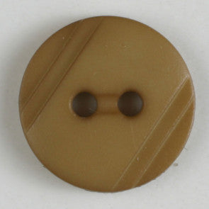 Polyamide Button - Beige Wood Grain 13mm