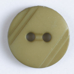 Polyamide Green Wood Grain button 13mm