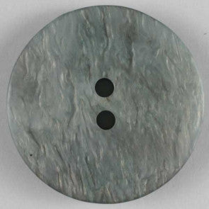 Polyester Speckled Grey button 20mm