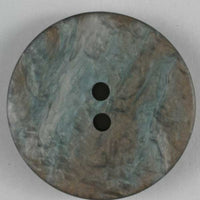 Polyester Fashion Button - Brown Bronze 25mm