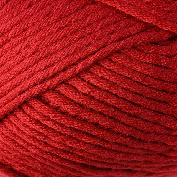 Berroco Comfort Chunky Yarn in the color Primary Red