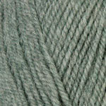 Plymouth Encore Worsted Yarn in the color Light Green Frost Mix 678