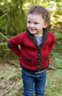 Gramps Cardigan Pattern by Tin Can Knits