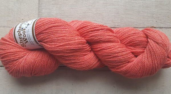Shepherd's Wool Worsted in the color Antique Rose