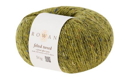 Rowan Felted Tweed Yarn in the color Avocado 161