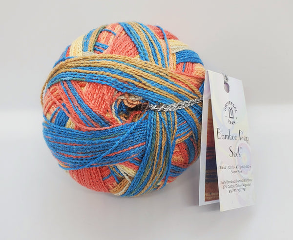 Bamboo Pop Sock Yarn in the color 504