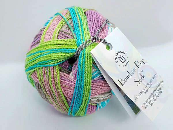 Bamboo Pop Sock Yarn in the color 505