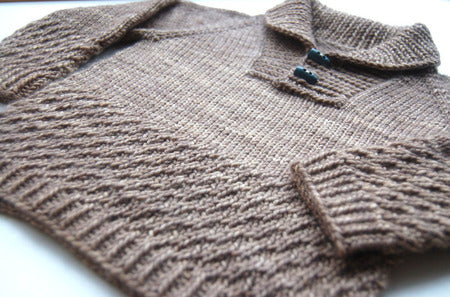 Boy Sweater Pattern by Frogginette
