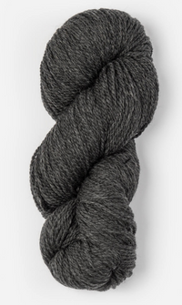 Blue Sky Fibers Woolstok Yarn in the color Cast Iron (black)