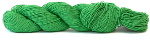 HiKoo Cobasi yarn in the color Blarney (green)