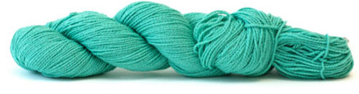 HiKoo Cobasi yarn in the color Seafoam (green)