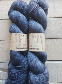 Emma's Yarn Practically Perfect Sock in the color Denim