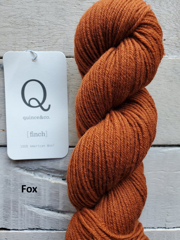Quince & Co. Finch yarn in the color Fox