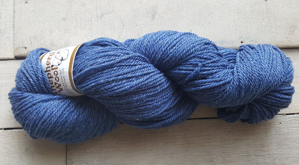 Shepherd's Wool Worsted in the color Frosty Blue