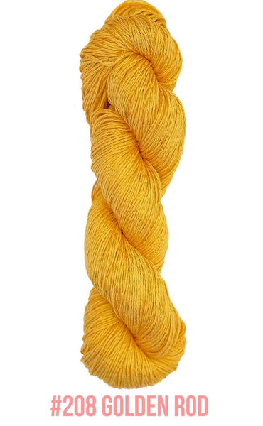Knit One Crochet Too Daisy Yarn in the colorway Golden Rod 208