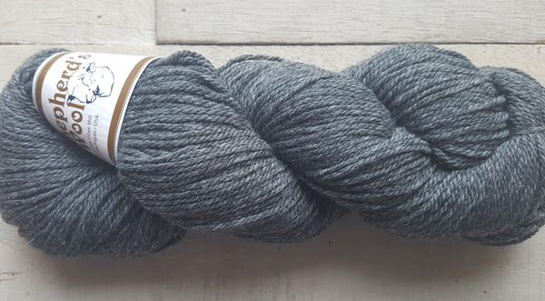 Shepherd's Wool Worsted in the color Granite