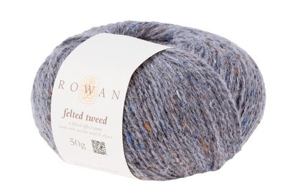 Rowan Felted Tweed Yarn in the color Granite 191