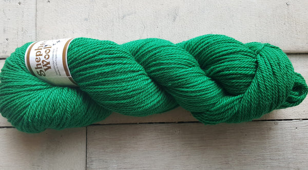 Shepherd's Wool Worsted in the color Green