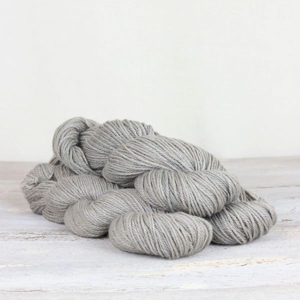 The Fibre Co. Road to China Light yarn in the color Grey Pearl