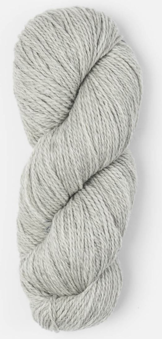 Blue Sky Fibers Woolstok Yarn in the color Grey Harbor (light gray)