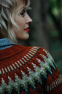 The Throwback Pattern by Drea Renee Knits