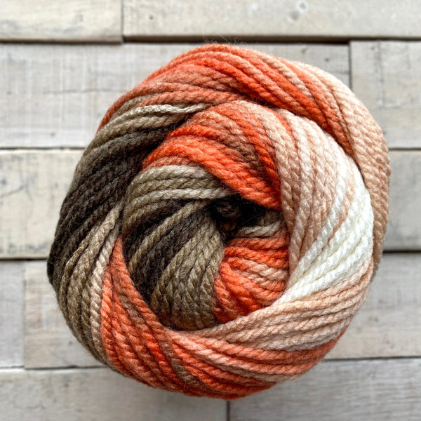 Hayfield Spirit Chunky Yarn in the color Ember 406