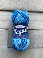 King Cole Vogue DK cotton yarn in the color Pale Denim 2120