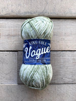 King Cole Vogue DK cotton yarn in the color Willow 2124