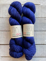 Emma's Yarn Practically Perfect Sock in the color Navy Blazer