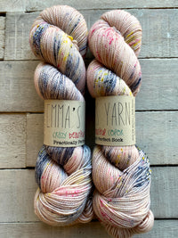 Emma's Yarn Practically Perfect Sock in the color Once Upon A Time