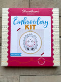 Hedghog Embroidery Kit