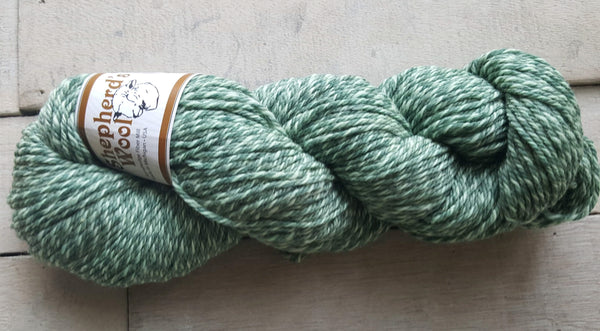Shepherd's Wool Worsted in the color Ivy