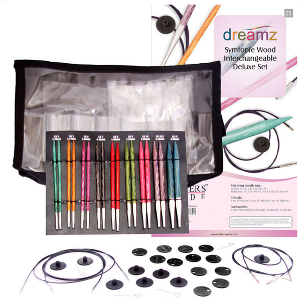 Knitter's Pride Dreamz Symfonie Wood Interchangeable Circular Deluxe Set