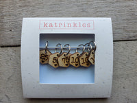 Number Stitch Marker Set