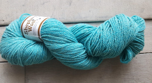 Shepherd's Wool Worsted in the color Lakeshore