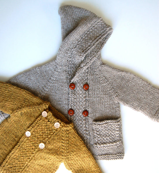 Latte Baby Coat pattern by Frogginette
