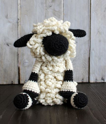 Toft Crochet Kit - Lisa the Valais Blacknose Sheep
