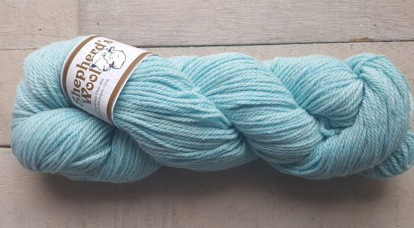 Shepherd's Wool Worsted in the color Lt Turquoise