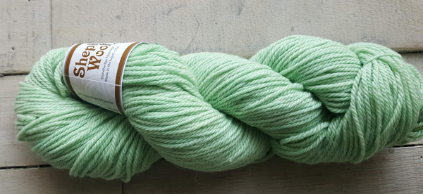 Shepherd's Wool Worsted in the color Mint