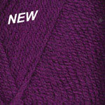 Plymouth Encore Worsted Yarn in the color Boysenberry 9857