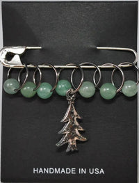 Stitch Markers by MAB Elements - O Christmas Tree