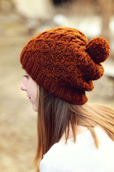Ore Creek Hat and Cowl Pattern by French Press Knits
