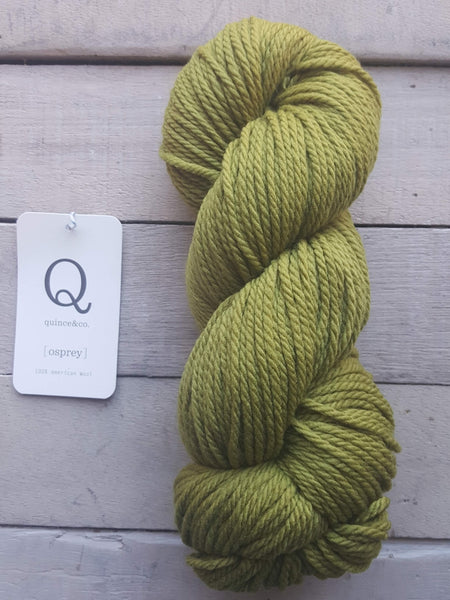 Quince & Co. Osprey Yarn in the color Bosc