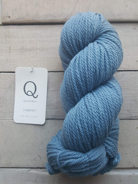Quince & Co. Osprey Yarn in the color Delft