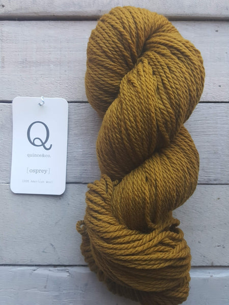 Quince & Co. Osprey Yarn in the color Honey